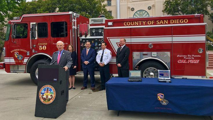County And Rural Fire Agencies Receive 164 500 To Install