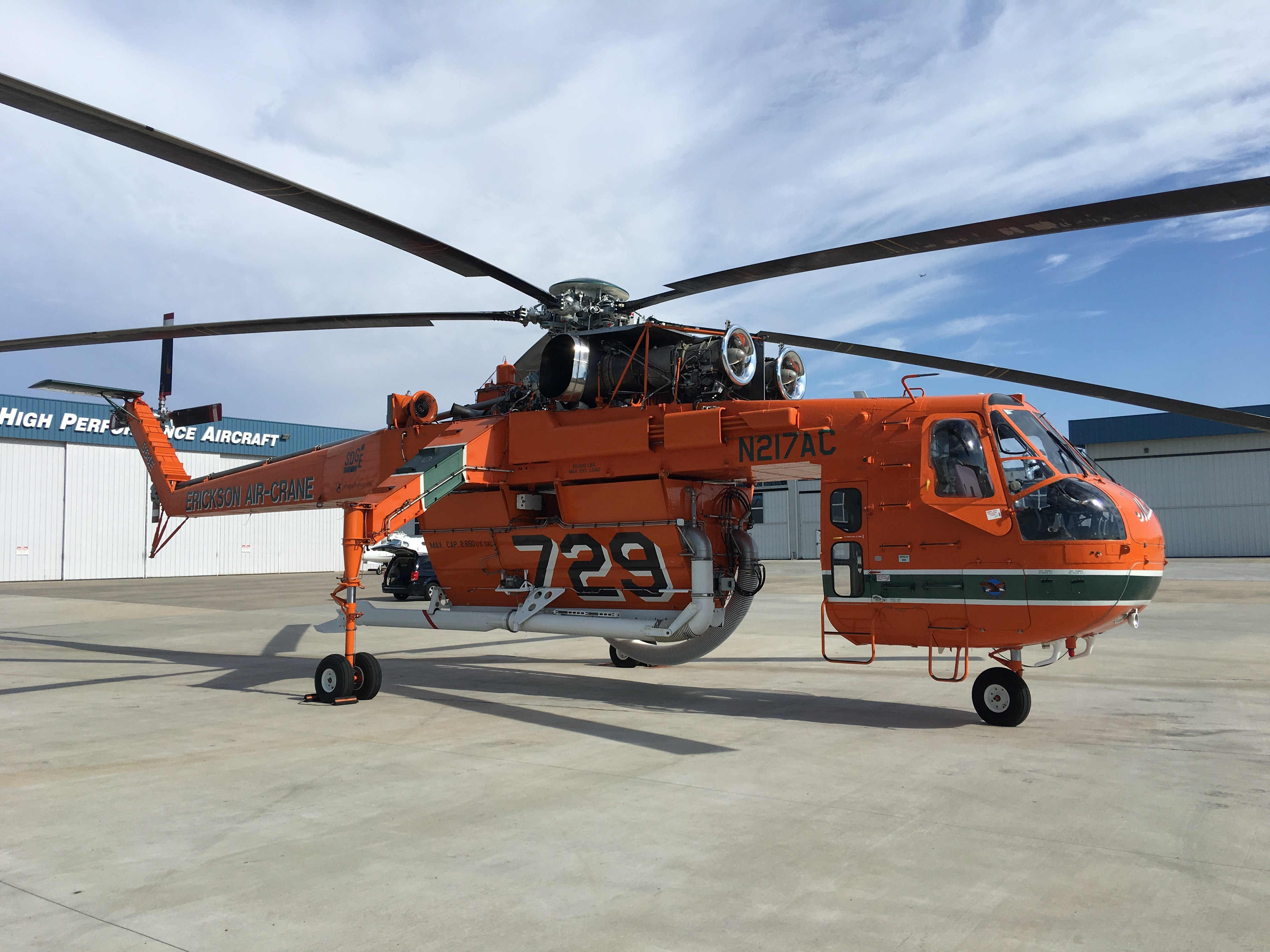Video: SDG&E's Aircrane Facing Challenging Fire Season in San Diego