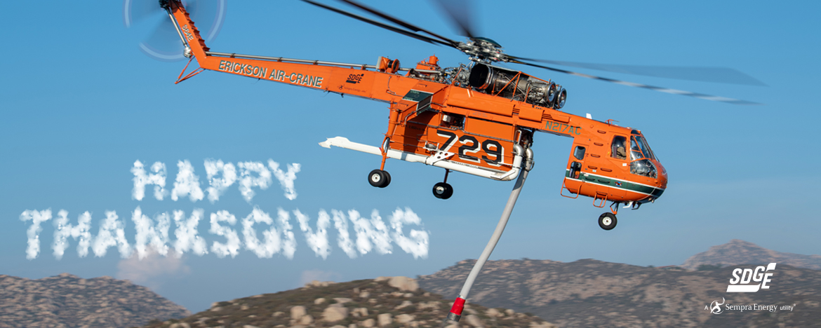 SkyMaverick Thanksgiving Message