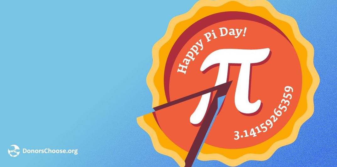 Donors Choose Pi Day