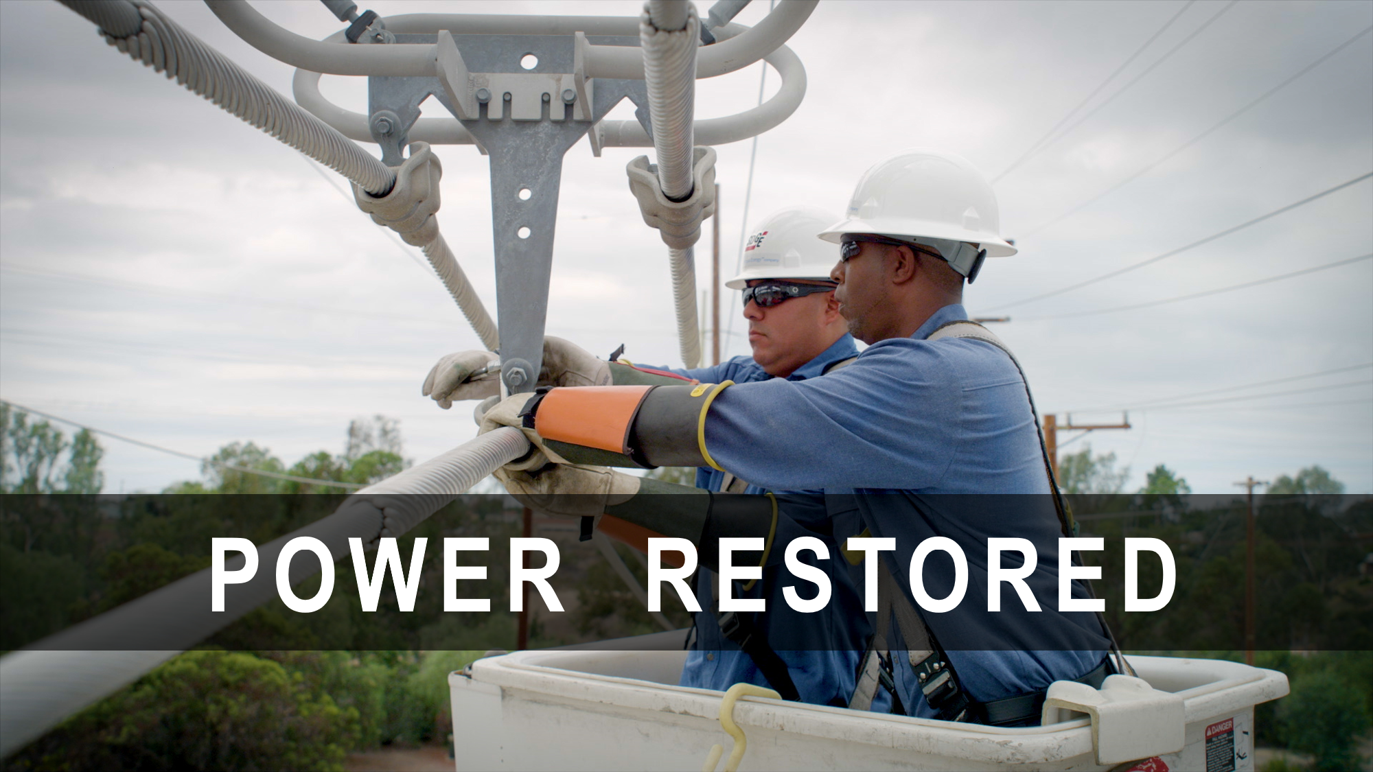 Power Has Been Restored | SDGE | San go Gas & Electric ... on