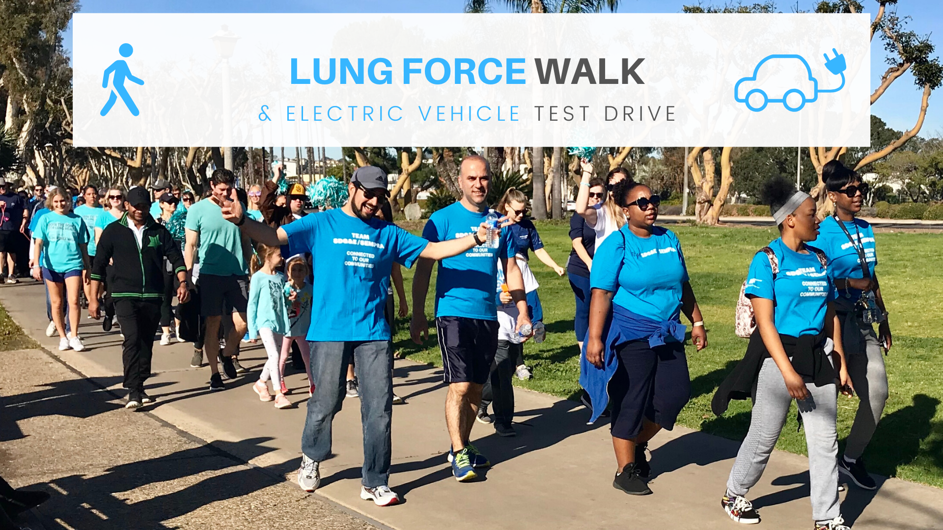 Walk and Drive Toward Cleaner Air