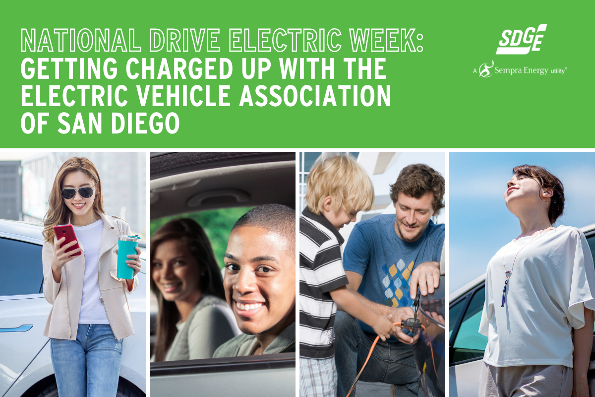 National Drive Electric Week: Getting Charged up with the Electric Vehicle Association of San Diego