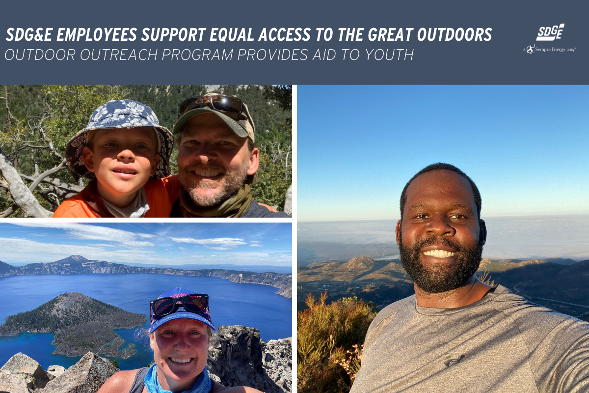 SDG&E Employees Support Equal Access to the Great Outdoors