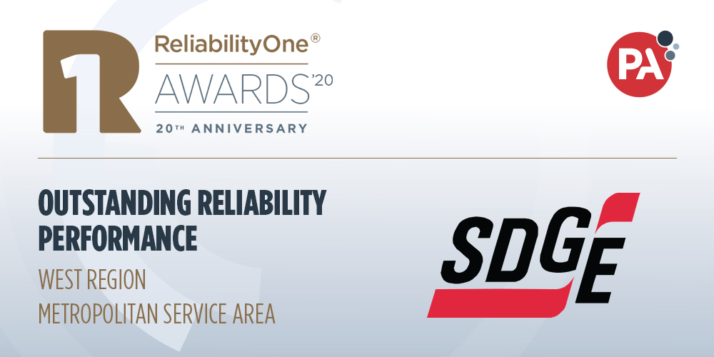 SDG&E Receives Awards For Outstanding Electric Reliability, Innovation And System Resiliency