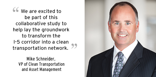 Quote from SDG&E VP of Clean Transportation Mike Schneider