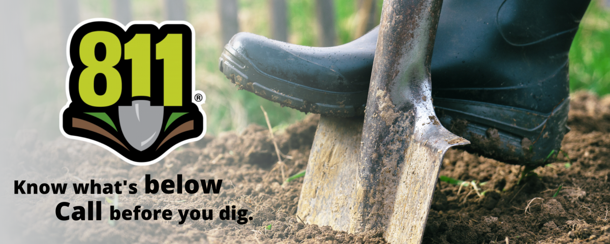 Got a Garden Project? Remember: April is National Safe Digging Month