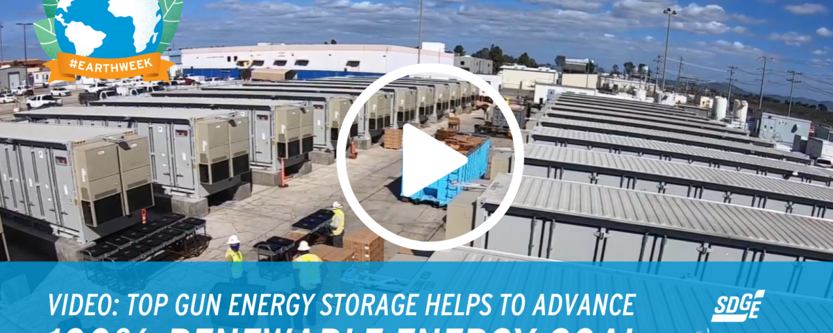Top Gun Energy Storage Helps to Advance 100% Renewable Energy Goal