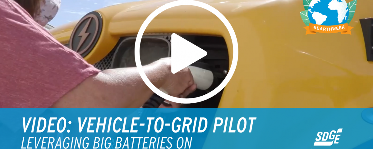 Vehicle-to-Grid Pilot: Leveraging Big Batteries on Electric School Buses to Support the Grid