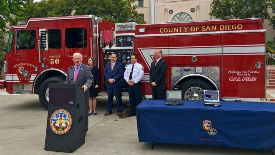 County and Rural Fire Agencies Receive $164,500 to Install Essential Technology