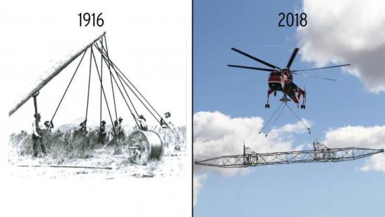 Blast from the Past: Innovation for Safety—1916 vs. 2018