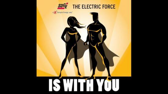 Comic-Con Goers: The Electric Force is With You
