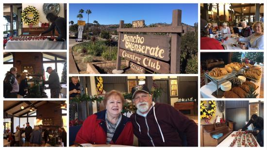 Collage of Rancho Monserate Holiday Breakfast