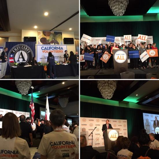 Scenes from California for All CERT and Listos Preparedness Conference