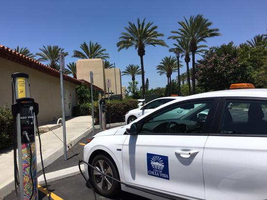 EV Charger at City of Chula Vista