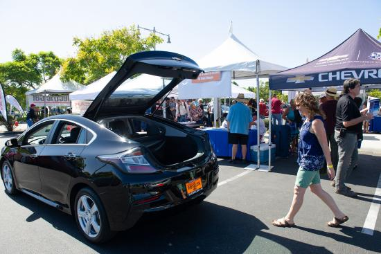Electric Vehicle Test Drive event