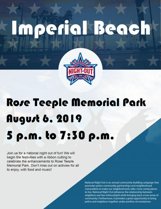 Imperial Beach National Night Out