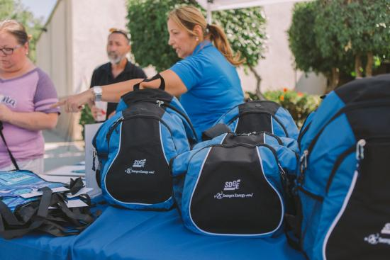 Free SDG&E Emergency Kit Backpacks being Handed Out