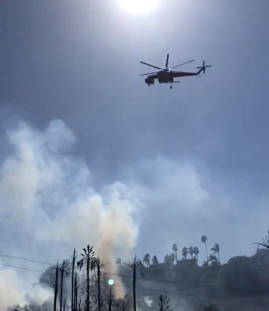 SkyMaverick at Talmadge Fire