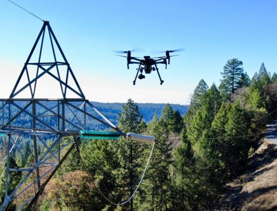 Drone Technology to Assess Equipment in High Fire Risk Areas