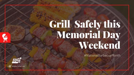 National Barbecue Month: Grilling Safety for Memorial Day Weekend