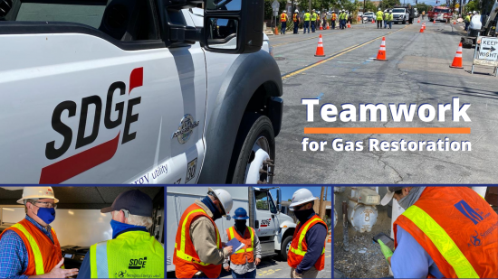 Gas and Customer Field Service Crews Work Day and Night to Restore Record Number of Customers