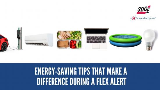 Oct. 1: Energy-Saving Tips That Make a Difference During A Flex Alert