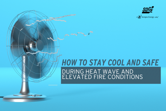 How to Stay Cool and Safe During a Heat Wave and Elevated Fire Conditions
