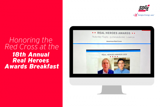 Honoring the Red Cross at the 18th Annual Real Heroes Awards Breakfast