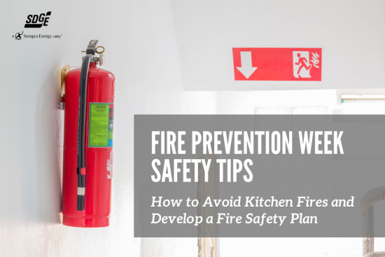 Fire Prevention Week Safety Tips: How to Avoid Kitchen Fires and Develop a Fire Safety Plan