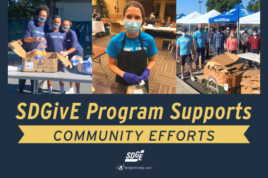 SDGivE Program Supports Volunteer Efforts