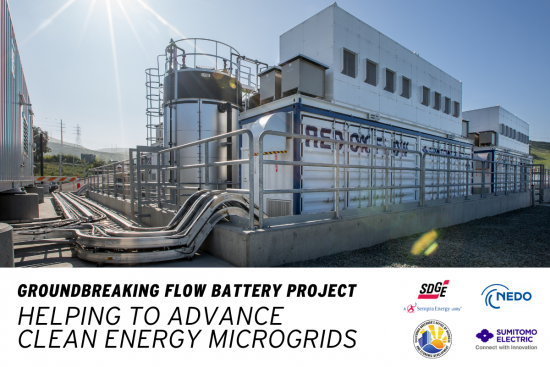 Groundbreaking Flow Battery Project Helping To Advance  Clean Energy Microgrids