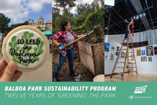 Balboa Park Sustainability Program: Twelve Years of 'Greening' the Park