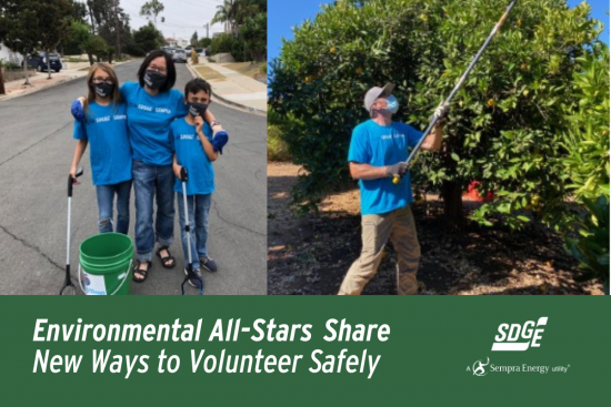 Environmental All-Stars Share New Ways to Volunteer Safely