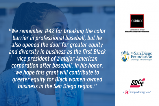 Jackie Robinson Day Grant Supports New Black Women Entrepreneur Initiative