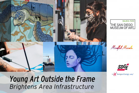 Young Art Outside the Frame Brightens Area Infrastructure