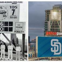 Blast from the Past: Manual Scoreboards to LED Scoreboards