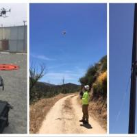 Drone Helps String Cable, Saving Hours of Work