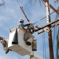 Update on power restoration efforts.
