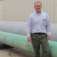 Norm Kohls, lead engineer for Pipeline 1600