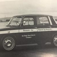 SDG&E's Electric Car from 1969