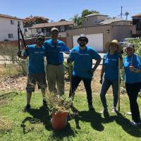 SDG&E Environmental All-Stars Volunteering to Clean Up City Heights