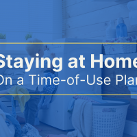 Staying at Home on a Time-of-Use Plan