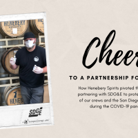 Cheers! Whiskey Distillery Pumps Out Hand Sanitizer for SDG&E and Community