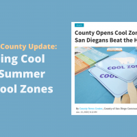 San Diego County Provides Update on 2020 Cool Zones