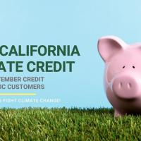 California Climate Credit to Offset September Bill for SDG&E Electric Customers by $32.28 in Credit