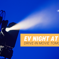 EV Night at the Drive-in Movie Tomorrow