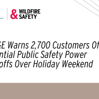 SDG&E Warns 2,700 Customers Of  Potential Public Safety Power Shutoffs Over Holiday Weekend
