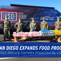 USO San Diego Expands Food Programs  To Support Military Families Impacted By COVID-19