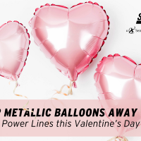 SDG&E Encourages Customers to Keep Metallic Balloons Away from Power Lines this Valentine's Day